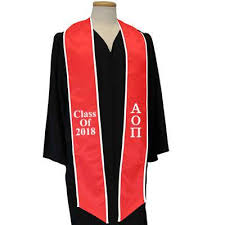 sorority graduation stoles custom graduation stoles fraternity sorority stoles