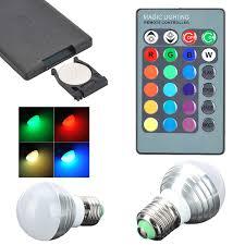 heat generating light bulbs durable low heat generating e27 gu10 mr16 e14 3w led globe bulb rgb
