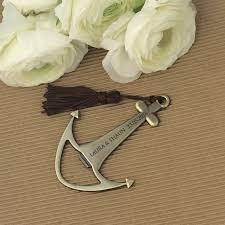 personalized bottle opener favor engraved anchor bottle opener wedding nautical