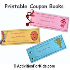 printable coupon books for kids