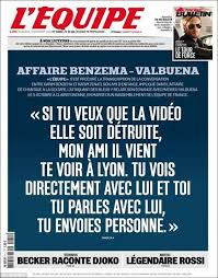 what karim benzema claimed he told mathieu valbuena in alleged