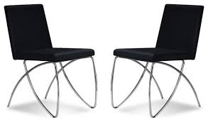 Contemporary Black Dining Chairs Awesome Modern Black Dining Chairs For Interior Designing Home
