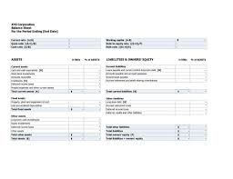Debt Spreadsheet Statement Of Assets And Liabilities Hmrc And Personal Assets And