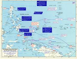 map studies of the pacific theater wisconsin historical society