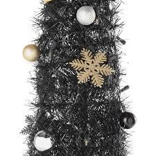pop up luxe black christmas tree 6ft amazon co uk kitchen u0026 home