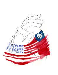 China Flag Ww2 China America Partenrship