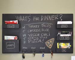 kitchen best wall kitchen chalkboard with storage and key holder