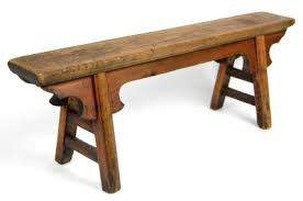 antique wooden bench seat reclaimed wood beautiful paired white kitchen table