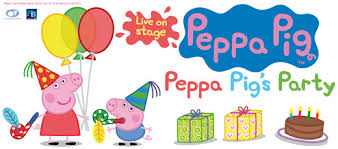 peppa pig birthday win tickets to peppa pig live closed really kid friendly