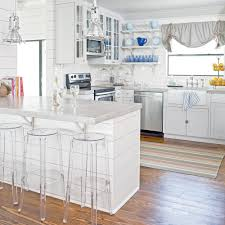 Opening Up A Galley Kitchen 19 Amazing Kitchen Makeovers Coastal Living