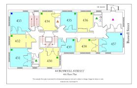 North Park Residences Floor Plan 44 Buswell Street Housing Boston University
