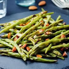 cuisine haricot vert recette haricots verts rôtis au four aux amandes croquantes