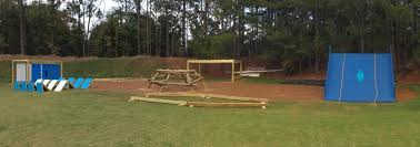 custom obstacle course installation playout