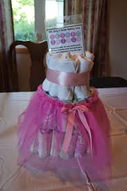 something yummy for your tummy tutu themed baby shower