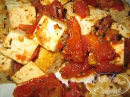 cuisiner tofu poele de tofu aux tomates