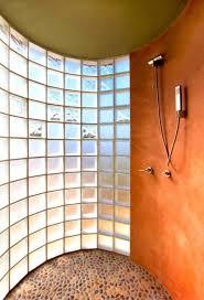 glass block bathroom designs custom glass block shower designs add beautiful to modern
