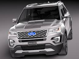 Ford Explorer Upgrades - 2018 ford explorer platinum release autosdrive info