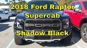 2018 ford f150 raptor supercab 3 5l ecoboost shadow black