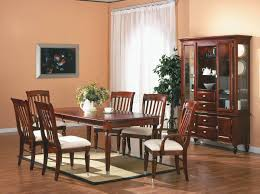 Black And Cherry Wood Dining Chairs Cherry Finish Traditional 5pc Dining Room Set W Optional Items
