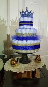 prince baby shower cake prince theme cake royal blue and gold for your
