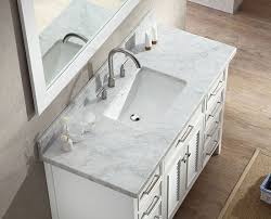 Kensington 60 Vanity Ariel Kensington Single 49 Inch Transitional Bathroom Vanity Set