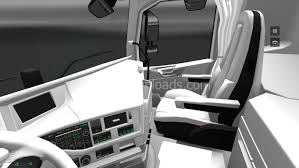 white volvo truck white interior for volvo fh 2013 euro truck simulator 2 mods