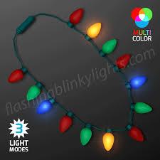 christmas light necklace jumbo bulbs christmas lights necklace at flashingblinkylights
