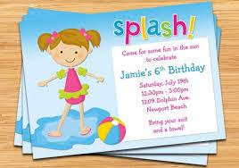 birthday pool party invitations christmanista com