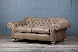 Leather Chesterfield Sofa Old Bessie Leather Chesterfield Sofa By Authentic Furniture