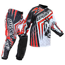 o neal motocross gear black orange blue red shocker mx oneal motocross jersey and pants
