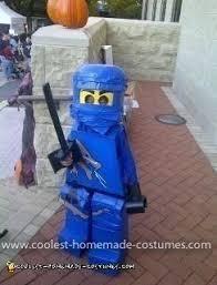 Ninjago Costume Coolest Lego Minifigure Ninjago Costume