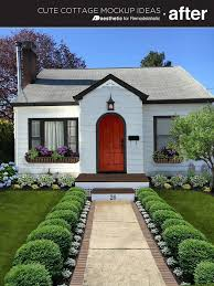 Ideas For Curb Appeal - 799 best cottage curb appeal images on pinterest front door