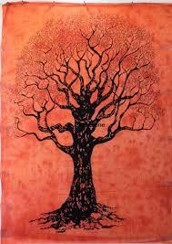 tree of tapestry wall hippie tapestry artzone14 on artfire