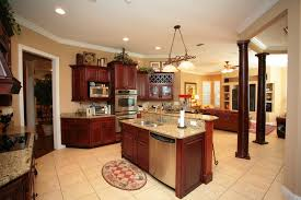 kitchen islands with columns eclectic mix of 42 custom kitchen designs