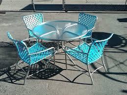 Vintage Brown Jordan Outdoor Furniture by Brown Jordan Wave Parabolic Slings Installed By Our Master