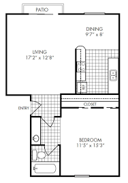 Floor Plan Company by Bedroom Medium 1 Bedroom Apartments Floor Plan Marble Decor Lamp