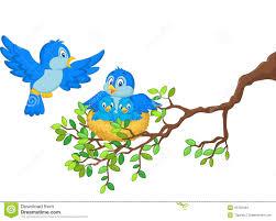 vogel im nest clipart clipartxtras