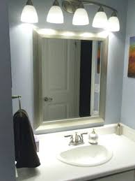 bathroom above mirror lighting best bathroom mirror lights ideas