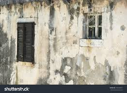 wall texturevery old decrepit wall two stock photo 349632647