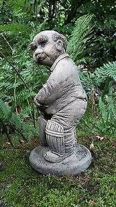 cricketer bowler garden statue ornament and fibreglass