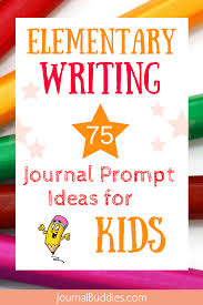 Creative Writing Prompts For Kids Worksheets Elementary Writing 75 Journal Prompt Ideas For Kids