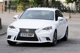 white lexus is 250 lexus is 250 f sport auto express