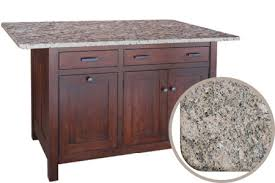 kitchen island with granite top custom islands choose a top islands kloter farms