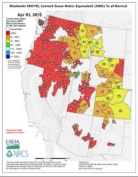 California Wildfire Map 2015 by North Of Drought Plagued California Snowpack In The Cascades Is