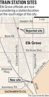 Sacramento Light Rail Map Elk Grove Changes Train Station Plan The Sacramento Bee