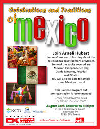 free program on the celebrations traditions of mexico