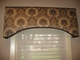 corner white wooden treatment window combinated short curtain and