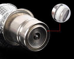 Dodge Challenger Zippo Lighter - silver 12v crystal car power plug socket output 20mm cigarette