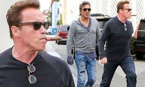 Mickey Rourke News Newslocker - master and apprentice arnold schwarzenegger lunches with mickey