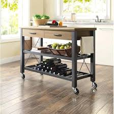 Free Standing Islands For Kitchens Kitchen Island Cart Corbetttoomsen